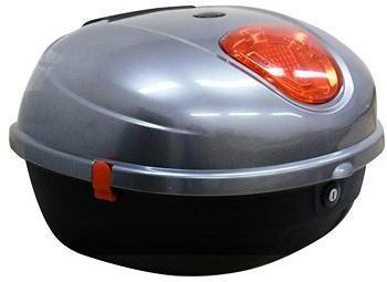 Zadní kufr k elektrickému motocyklu RACCEWAY CENTURY, šedý