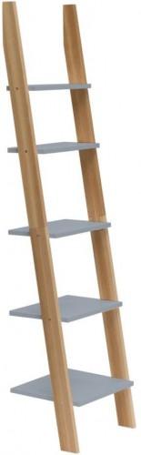 Tmavosivá rebríková polica Ragaba ASHME, šírka45cm