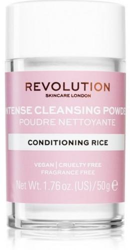 Revolution Skincare Conditioning Rice jemný čistiaci púder 50 g