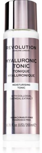 Revolution Skincare Hyaluronic Acid hydratačné tonikum s kyselinou hyalurónovou 200 ml