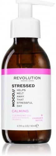 Revolution Skincare Stressed Mood upokojujúci čistiaci olej 140 ml