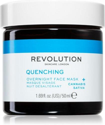 Revolution Skincare Thirsty Mood intenzívna nočná maska pre rýchlu regeneráciu suchej a dehydrovanej pleti 50 ml