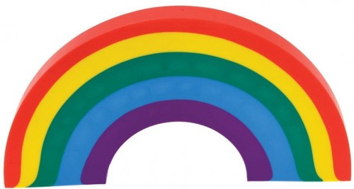 Guma v tvare dúhy Rex London Rainbow