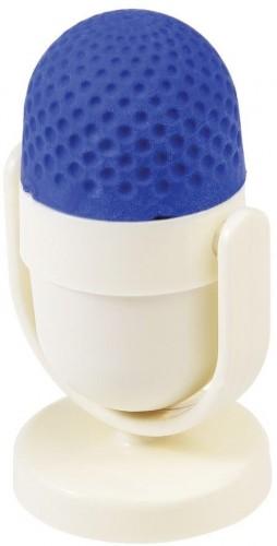 Modro-biela guma na gumovanie so strúhadlom Rex London Microphone