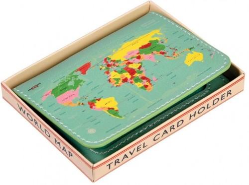 Peňaženka na karty Rex London World Map