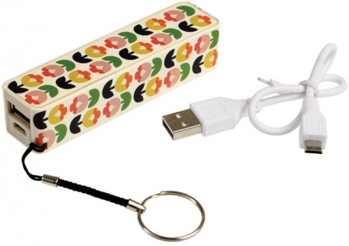 Prenosná USB nabíjačka Rex London Power Bank Tulip Bloom