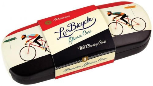 Puzdro na okuliare s čistiacou handričkou Rex London Le Bicycle