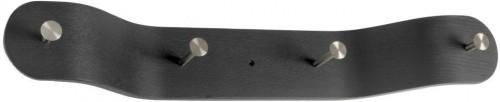 Čierny nástenný vešiak RGE Veneer
