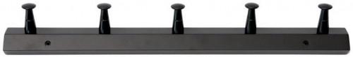 Čierny nástenný vešiak z brezového dreva RGE Fame