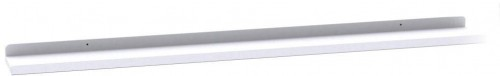 Biela dubová polička na obrázky Rowico Gorgona, dĺžka 100 cm