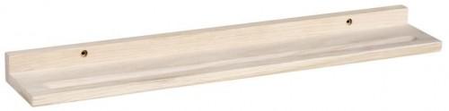 Matne lakovaná dubová polica na obrázky Rowico Vili
