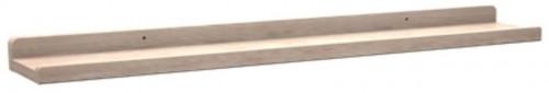 Matne lakovaná dubová polička na obrázky Rowico Gorgona, dĺžka 70 cm
