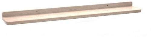 Prírodná dubová polička na obrázky Rowico Gorgona, dĺžka 70 cm