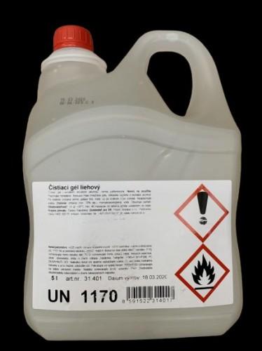 Rubella Dezinfekčný antibakteriálny gél na ruky 5L