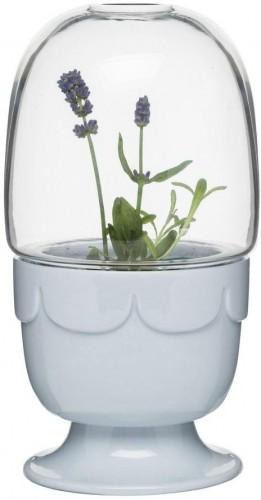 Kvetináč s poklopom Greenhouse, levanduľový