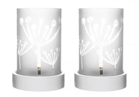 Svietniky na čajovú sviečku SAGAFORM SOS, 7x13cm