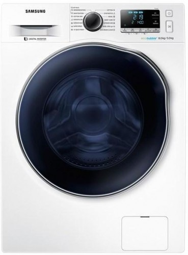 Práčka so sušičkou Samsung Wd80j6a10aw/LE biela