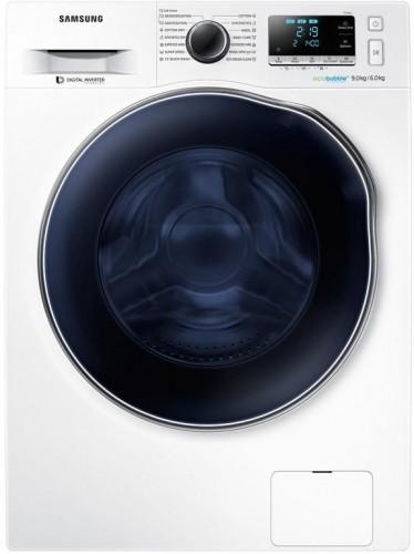 Práčka so sušičkou Samsung Wd90j6a10aw/LE biela