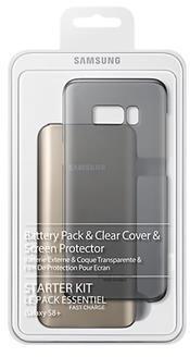 Samsung Kit (BatteryPack+ClearCover) pre S8+ Black EB-WG95EBBEGWW