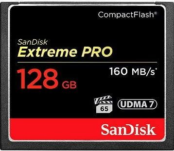 SanDisk Compact Flash 128GB 1000x Extreme Pro
