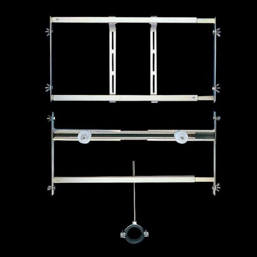 Sanela SLR 02 Rám určený do sádrokartonových konstrukcí pro pisoár se splachovačem umístěným nad pisoárem (SL 08020)