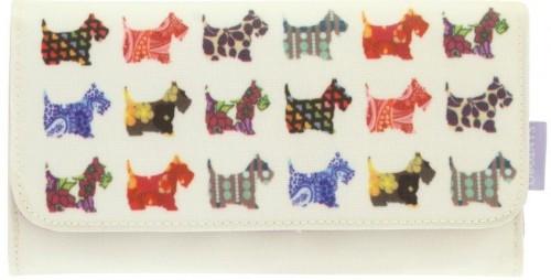 Obojstranná peňaženka Santoro London Scottie Dogs