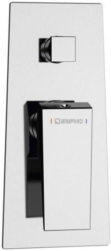 SAPHO - MORADA podomietková sprchová batéria, 2 výstupy, chróm (MR42)