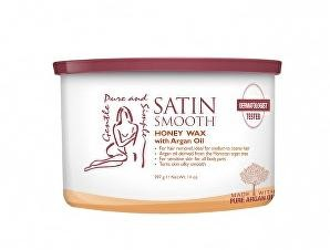 Satin Smooth Depilačný vosk s medom a arganovým olejom (Honey Wax With Argan Oil) 400 ml