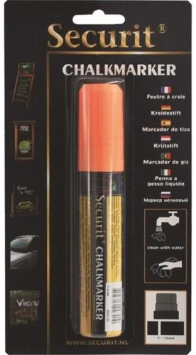 Oranžová kriedová fixka na vodnej báze Securit® Orange Large