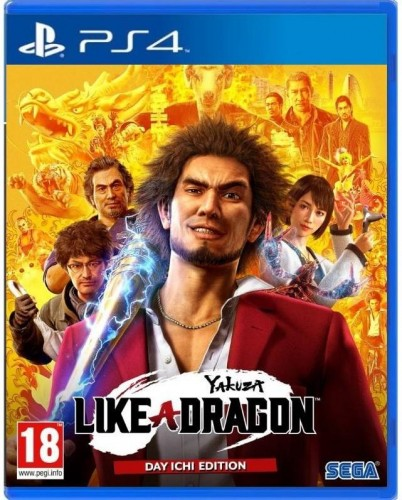 Hra Sega PlayStation 4 Yakuza: Like a Dragon (5055277039708 Hra PS4 PS4 Pro