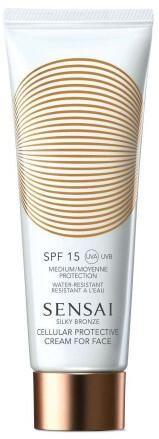 Sensai Pleť ový krém na opaľovanie SPF 15 Cellular Protective (Cream For Face) 50 ml