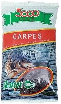 Sensas 3000 Club Carpes Noir (Kapr-černá) 1kg