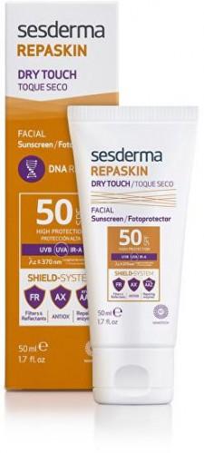 Sesderma Opaľovací gél-krém na tvár SPF 50 Repaskin (Sunscreen Gel Cream) 50 ml