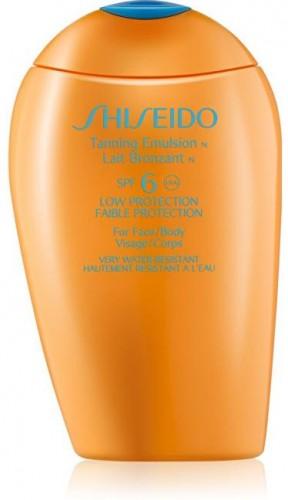 Shiseido Opaľovacia emulzia SPF 6 Suncare (Tanning Emulsion) 150 ml