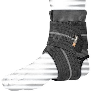 Shock Doctor Ankle Sleeve With Compression Wrap Support Black XL