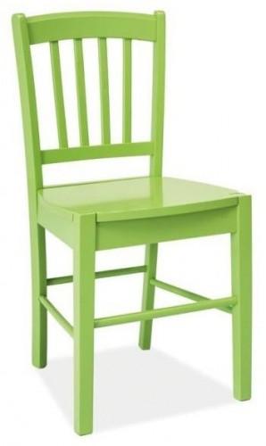 SIGNAL CD-57 jedálenská stolička zelená