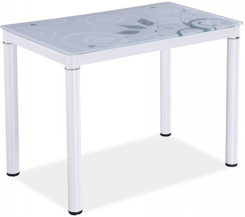 SIGNAL Damar jedálenský stôl biela