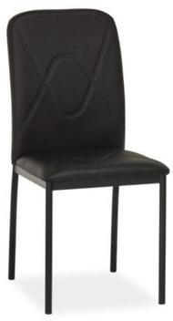 Signal Jedálenská stolička H-623 Farba: Čierna