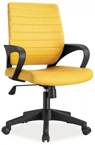 Signal Kancelárske kreslo Q-051 Farba: Žltá