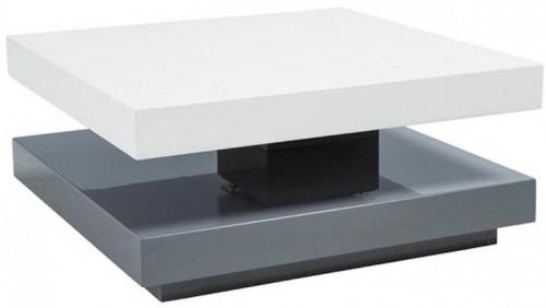 Signal Konferenčný stolík FALON Farba: Sivá / biela