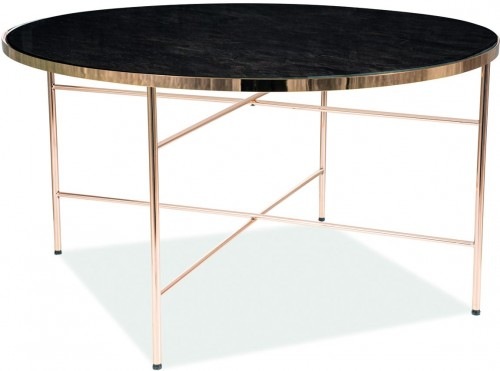 Signal Konferenčný stolík IBIZA B Farba: zlatá