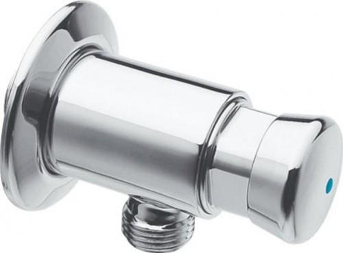 SILFRA - QUIK samouzatvárací nástenný pisoárový ventil, chróm (QK10051)