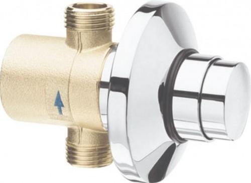 SILFRA - QUIK samouzatvárací podomietkový pisoárový ventil, chróm (QK11051)