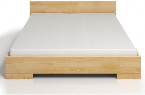 Dvojlôžková posteľ z borovicového dreva SKANDICA Spectrum Maxi, 160×200cm