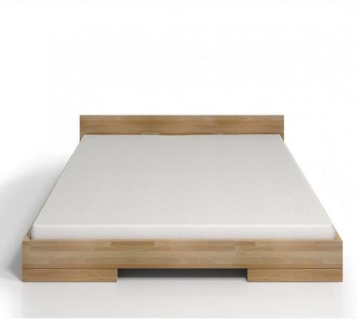 Dvojlôžková posteľ z bukového dreva SKANDICA Spectrum, 200×200cm