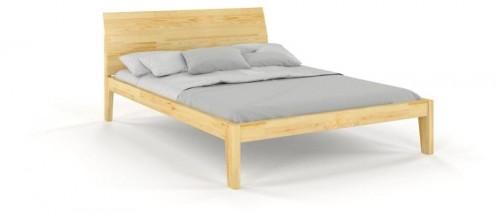 Dvojlôžková posteľ z masívneho borovicového dreva SKANDICA Agava, 160 x 200 cm
