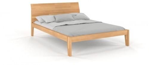 Dvojlôžková posteľ z masívneho bukového dreva SKANDICA Agava, 140 x 200 cm