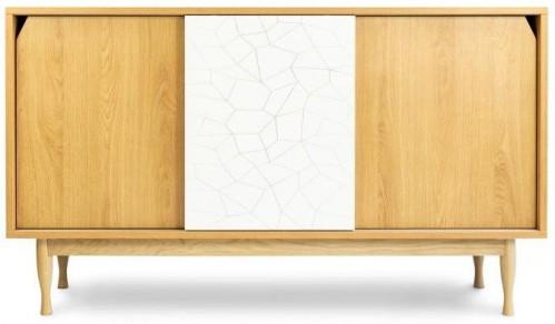 Komoda z dubového dreva SKANDICA Elza