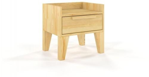 Nočný stolík z masívneho borovicového dreva SKANDICA Agava