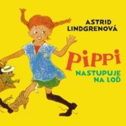 Pippi nastupuje na loď - audiokniha